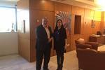 Τη συνεργασία στην Επιστήμη και την Τεχνολογία συζήτησαν ο Αν. Υπουργός Έρευνας και Καινοτομίας και η Πρέσβειρα της Αργεντινής