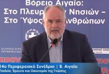 Κ.Φωτάκης: Η καινοτόμος επιχειρηματικότητα μπορεί να ανθίσει στο Βόρειο Αιγαίο