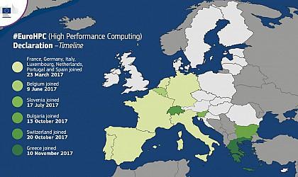 Greece signs the European declaration on high-performance computing