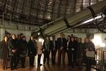 Οι Πρέσβεις χωρών της Λατινικής Αμερικής ξεναγήθηκαν στο Τηλεσκόπιο Newall