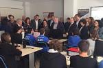 Το καινοτόμο στη Ρομποτική 7ο Λύκειο Τρικάλων επισκέφτηκαν ο ΑΝΥΠ Έρευνας και Καινοτομίας Κ. Φωτάκης και η ΓΓΕΤ Π. Κυπριανίδου